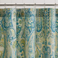 Rosalie Paisley Shower Curtain