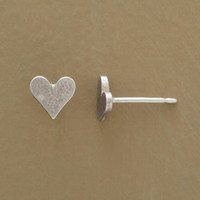 SILVER LITTLE HEARTS EARRINGS         -                  Stud         -                  Earrings         -                  Jewelry                       | Robert Redford's Sundance Catalog