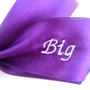 Big/ Little Sorority Hair bows in Purple