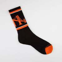 SKYLINE SOCKS San Francisco Mens Crew Socks