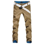 Amazon.com: Allegra K Men Belt Loop Multi Pockets Leisure Trousers Pants Khaki W31: Clothing