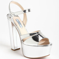 Prada Quarter Strap Sandal | Nordstrom