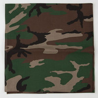 ROTHCO Woodland Camo Bandana