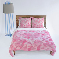 DENY Designs Home Accessories | Lisa Argyropoulos Heart Electric Duvet Cover