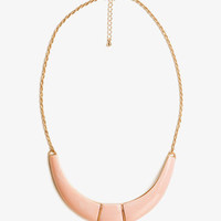 Curved Bib Necklace