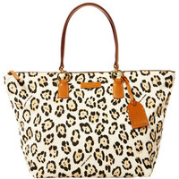 Dooney & Bourke Nylon Print Novelty Large Tulip Shopper