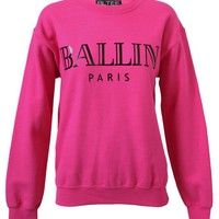 BRIAN LICHTENBERG | Unisex Ballin Cotton-blend Sweatshirt | Browns fashion &amp; designer clothes &amp; clothing