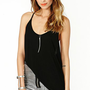 Macy Racerback Tank - Black