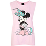 Pink Minnie Mouse Florida print tank top  - comic - women