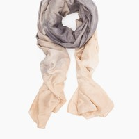 Willow Knows / Silk Habotai Wrap Scarf Black Tea