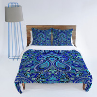 DENY Designs Home Accessories | Aimee St Hill Paisley Blue Duvet Cover