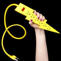 Lightning Bolt Power Strip