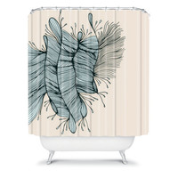 DENY Designs Home Accessories | Gabi Birds Of A Feather 1 Shower Curtain