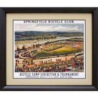 Phoenix Galleries Bicycle Club Framed Print - HP684 - All Wall Art - Wall Art &amp; Coverings - Decor