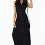 Conquest Maxi Dress - Black
