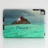 PEACE iPad Case by catspaws