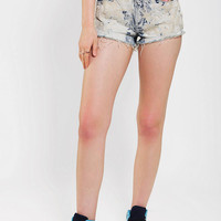 Urban Outfitters - BLANK NYC Leeches Embroidered Cutoff Short