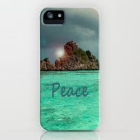 PEACE iPhone & iPod Case by catspaws