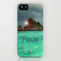 PEACE iPhone &amp; iPod Case by catspaws