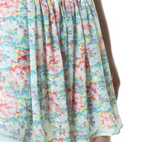 PRINTED MINI SKIRT - Skirts - Woman - ZARA United Kingdom