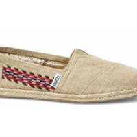 Embroidered Hemp Women&#x27;s Classics | TOMS.com