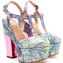 NICHOLAS KIRKWOOD | Floral Brocade Platform Pumps | Browns fashion &amp; designer clothes &amp; clothing