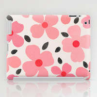 Dogwood Vintage Pink iPad Case by Garima Dhawan