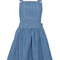 Blue Bib and Brace Dress - Pinafore Dresses - Dress Shop - Miss Selfridge