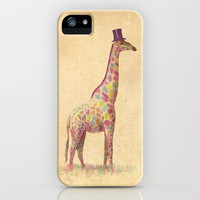 Fashionable Giraffe iPhone &amp; iPod Case by Terry Fan