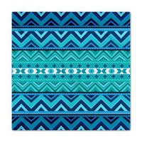 Blue #4, Aztec Queen Duvet&gt; Queen Duvets&gt; Ornaart