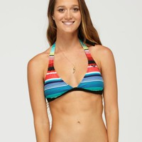 On the Horizon 70s Halter Bikini Top - Roxy