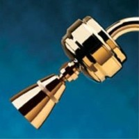 Sprite SLB-PB-A Showerhead Polished Brass Finish Filters Including Adjustable Showerhead
