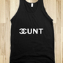Chanel Cunt - Social Tees - Skreened T-shirts, Organic Shirts, Hoodies, Kids Tees, Baby One-Pieces and Tote Bags