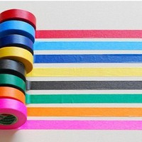 Vivid masking tape 8 set - 15mm | nothingelegant - Paper on ArtFire