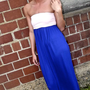 Blush &amp; Blue Maxi | The Rage