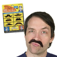 Stylish Mustaches - 7 Costume Mustache's - Whimsical & Unique Gift Ideas for the Coolest Gift Givers
