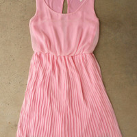 Sweet Pleated Peony Dress [3861] - $44.00 : Vintage Inspired Clothing & Affordable Summer Frocks, deloom | Modern. Vintage. Crafted.