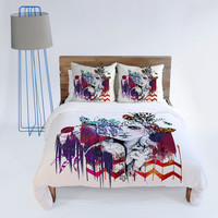 DENY Designs Home Accessories | Holly Sharpe Tribal Girl 1 Duvet Cover