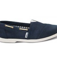 Navy Nautical Women&#x27;s Biminis | TOMS.com