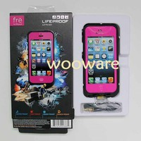 NEW BNIB LifeProof Case for iPhone 5 fre HOT-PINK-MAGENTA Box Life-Water Proof