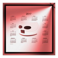 2017 Wall Calendar Print from Zazzle.com