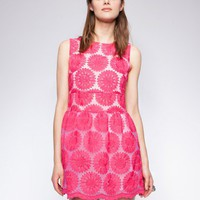 Berry Daisy dress
