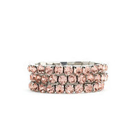 Taupe Rhinestone Bracelets: Charlotte Russe
