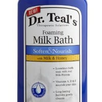 Dr. Teal's Foaming Milk Bath with Milk and Honey, 34 Fluid Ounce