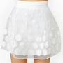 Daisy Chaser Skirt - White