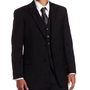 Tommy Hilfiger Men's Two Button Trim Fit 100% Wool Suit Separate Coat