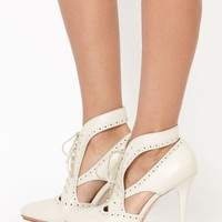sass & bide |  THE TREE CLIMBER - ivory | shoes | accoutrement | sass & bide