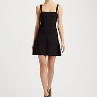 Herve Leger - A-Line Bandage Dress