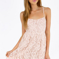 Come My Lacey Babydoll Dress $30