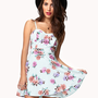 Floral A-Line Dress